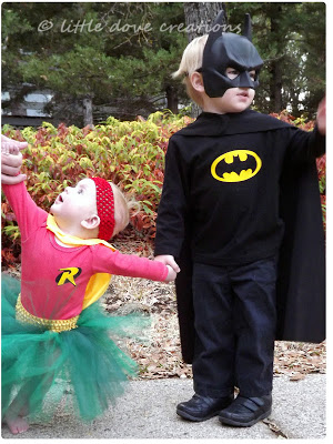 Brother and Sister Superhero Halloween Costumes & Handmade Halloween Costume Ideas for Siblings - Design Dazzle