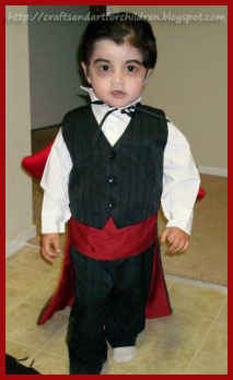 Little Vampire Costume for Toddler Boy