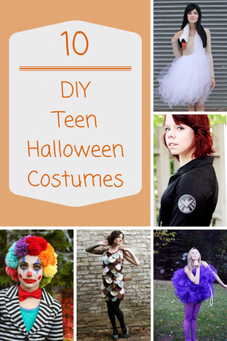 Totally Cool Teen Halloween Costumes