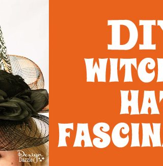 DIY Witches Hat Fascinator