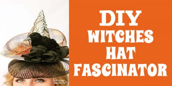 DIY witches hat fascinator project fi