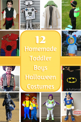 Homemade Toddler Boys Halloween Costumes