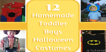 Homemade Toddler Boys Halloween Costumes fi