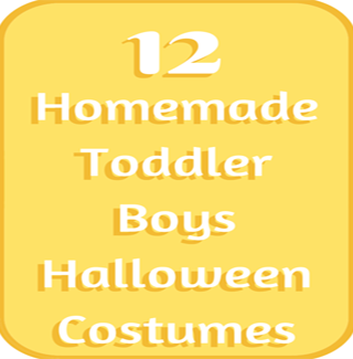 Handmade Toddler Boy Halloween Costumes