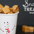 Snowman Treat Cup 650