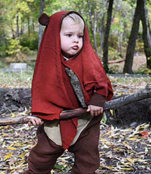 ewok costume  sc 1 st  Design Dazzle & Star Wars Costume Ideas for Kids - Design Dazzle