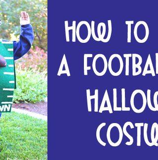 Football Field {Dollar Store} Costume