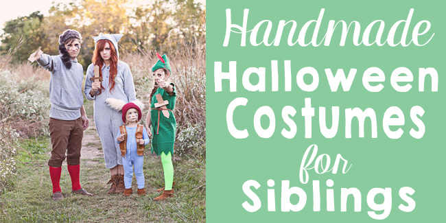 handmade costumes for siblings fi