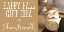 happy fall gift idea fi
