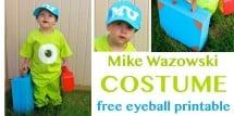 Mike Wasowski inspired costume - Design Dazzle
