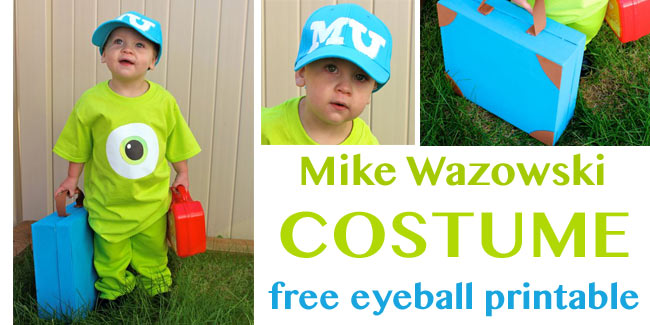 Mike Wasowski inspired costume - Design Dazzle
