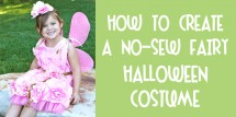 no sew fairy halloween costume fi