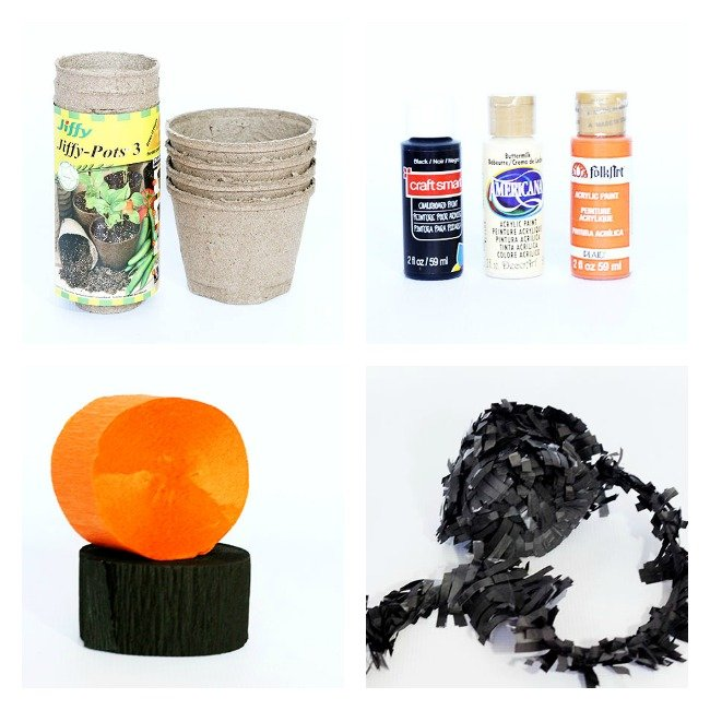 All the supplies needed to make a spook-tacular halloween treat! Designdazzle.com #diyhalloween #halloweentreats