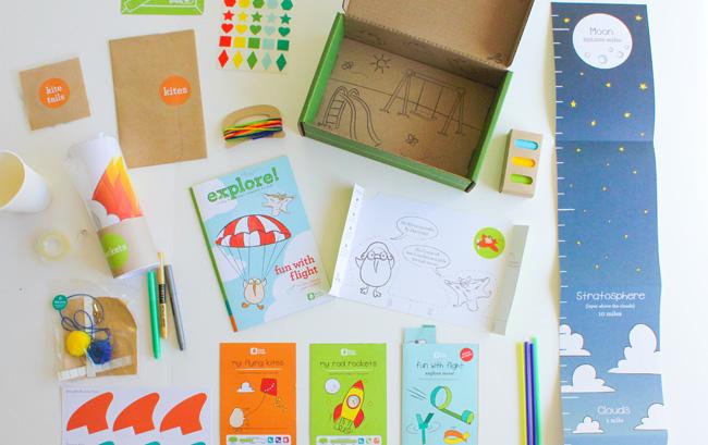 Target Toy Emporium Kiwi Crate Contents