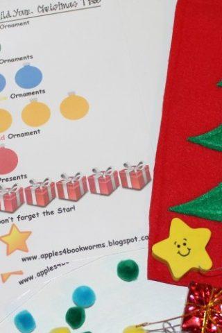 Christmas Busy Bag for Kids
