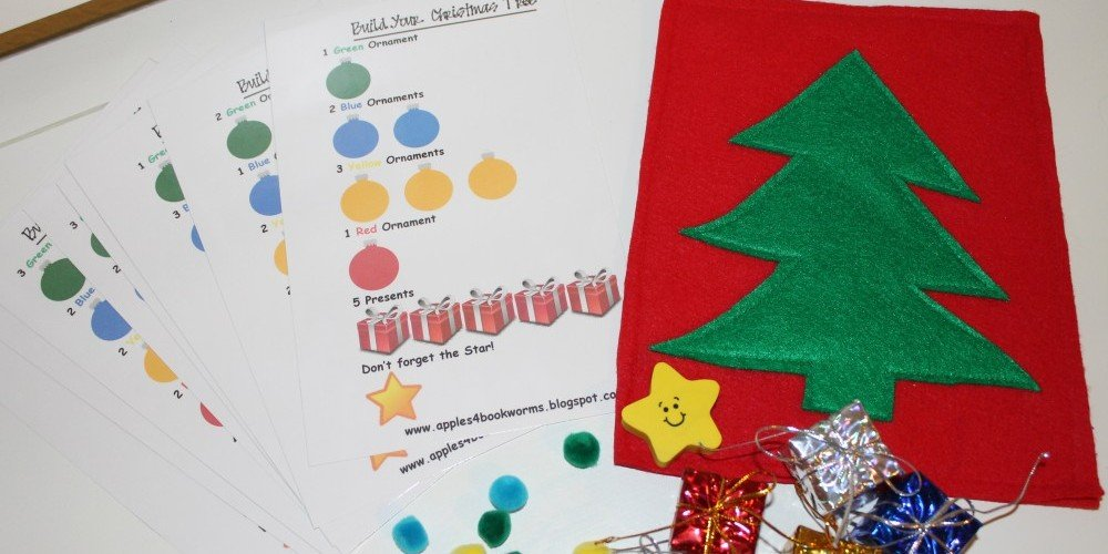 Christmas Busy Bag for Kids - Design Dazzle