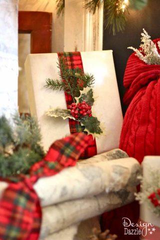Santa's Cabin in the Woods Christmas Dream Tree