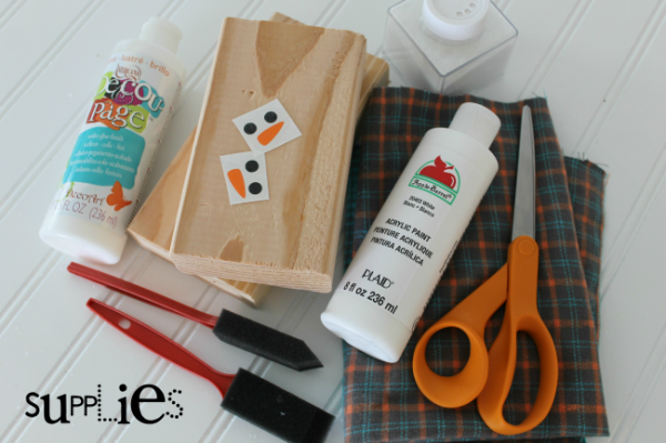 650 supplies to make snowmen