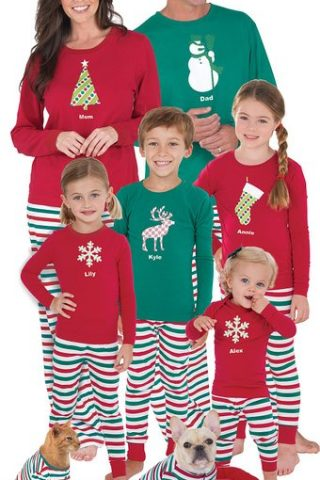 Christmas Pajamas : Ideas for the Whole Family