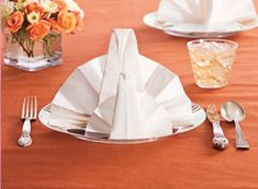 folidng turkey napkins