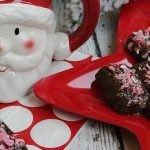 Chocolate Peppermint Shortbread Bites