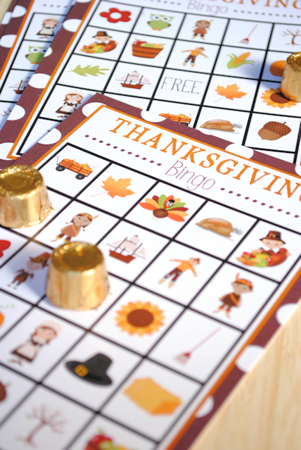 Luscious image throughout free printable thanksgiving bingo cards