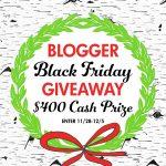 Black Friday Cash Giveaway!