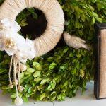 Rustic Chic Jingle Bell Door Wreath
