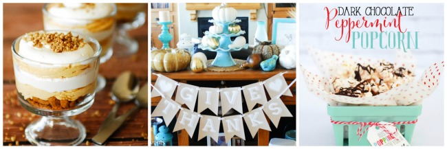 Thanksgiving and Christmas ideas from Paisley Petal Events