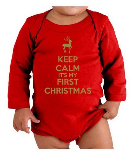 Baby's First Christmas Pajamas - Design Dazzle