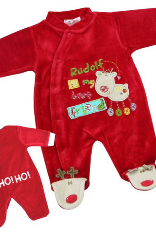 Baby's First Christmas Pajamas