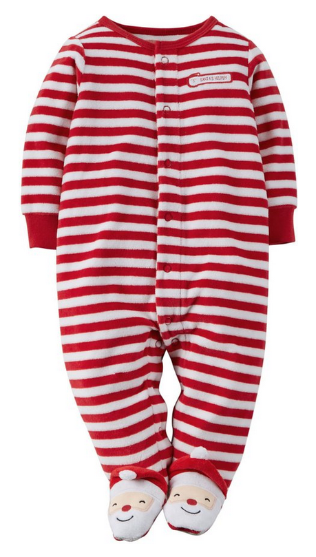Baby S First Christmas Pajamas Design Dazzle