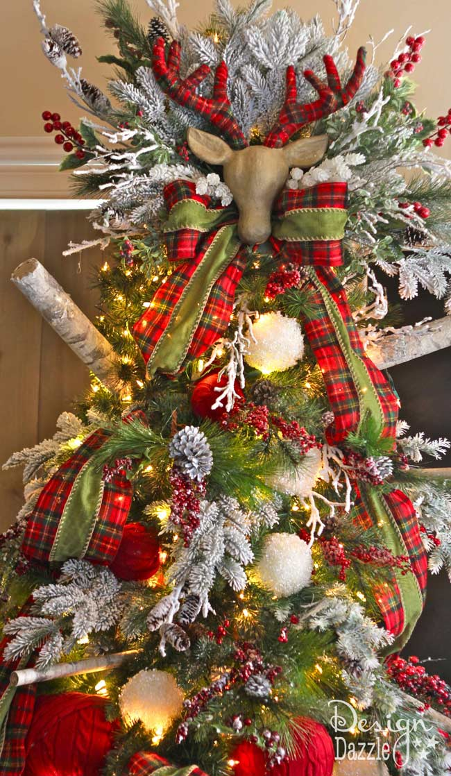 christmas decorating tips hacks tree designed by toni of design dazzle christmastree