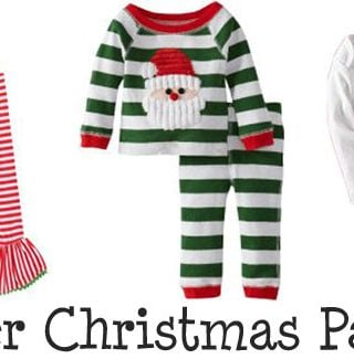 Christmas Pajamas for Toddlers