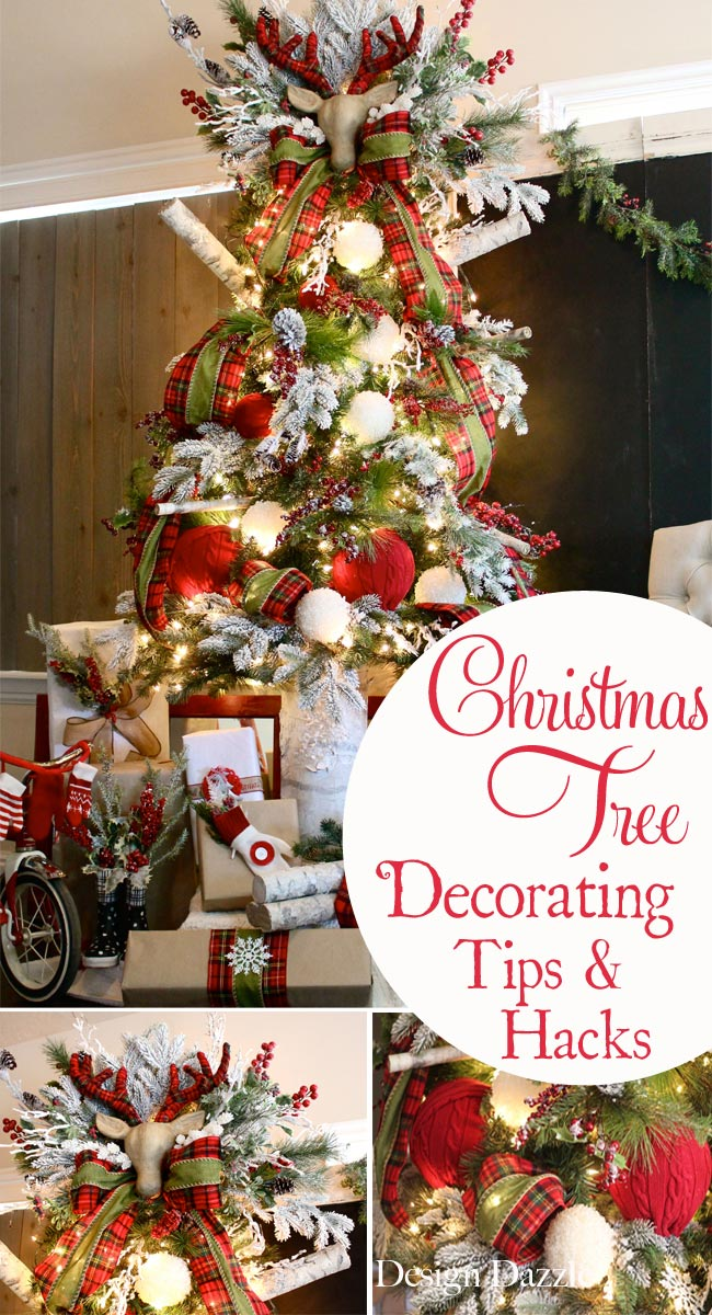 how to decorate a christmas tree decorating tips and hacks design dazzle christmastree