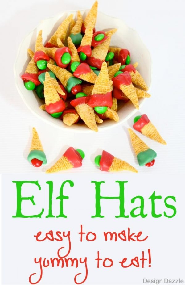 Make these adorable elf hats with your kids this Christmas!