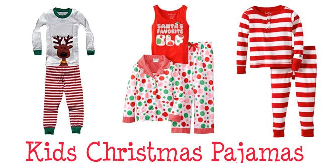 Christmas Pajamas for Kids - Design Dazzle