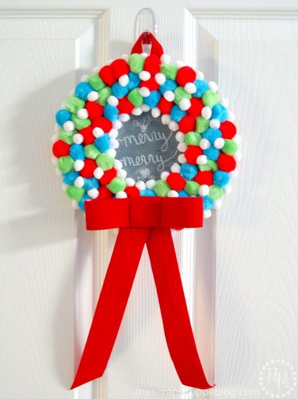 See how to make this adorable, kid-friendly holiday craft! The Scrap Shoppe's full tutorial on Designdazzle.com's Christmas Wonderful- check it out!