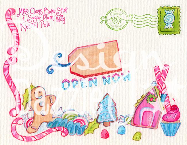 mrs claus bake shop label pink for web wm