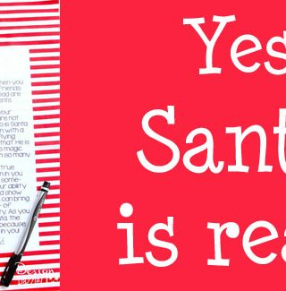 A Letter to Kids: Santa is Real