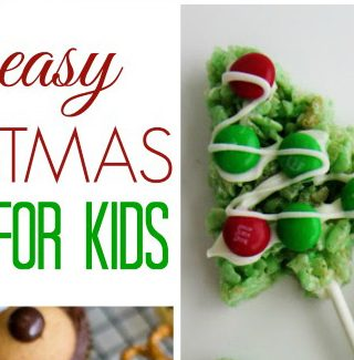 Making Easy Christmas Treats With Kids