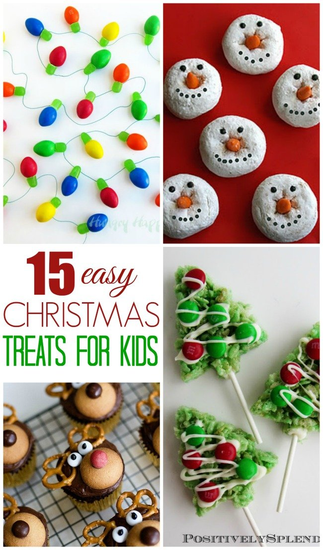15 cute and easy Christmas treats for kids to help you make - they'll want to make them all!