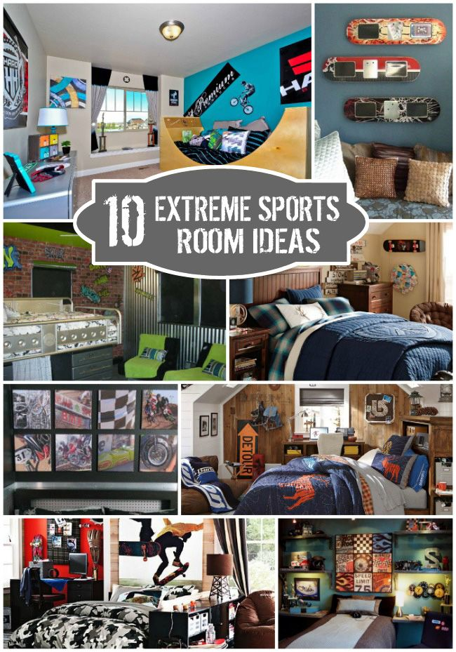 Sports Themed Bedroom Accessories