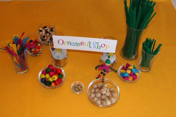 Ornament Shop for Elf Workshop!