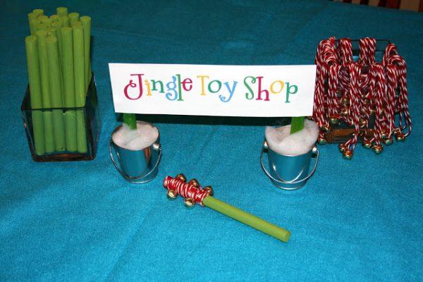 Jingle Toy Shop for Elf Workshop!