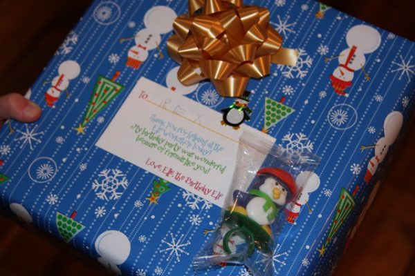 Party Favor Gifts form the Birthday Elf!