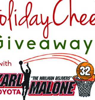Spreading Holiday Cheer Giveaway with Karl Malone Toyota