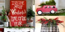 It's The Most Wonderful Time of The Year Home Tour - Design Dazzle