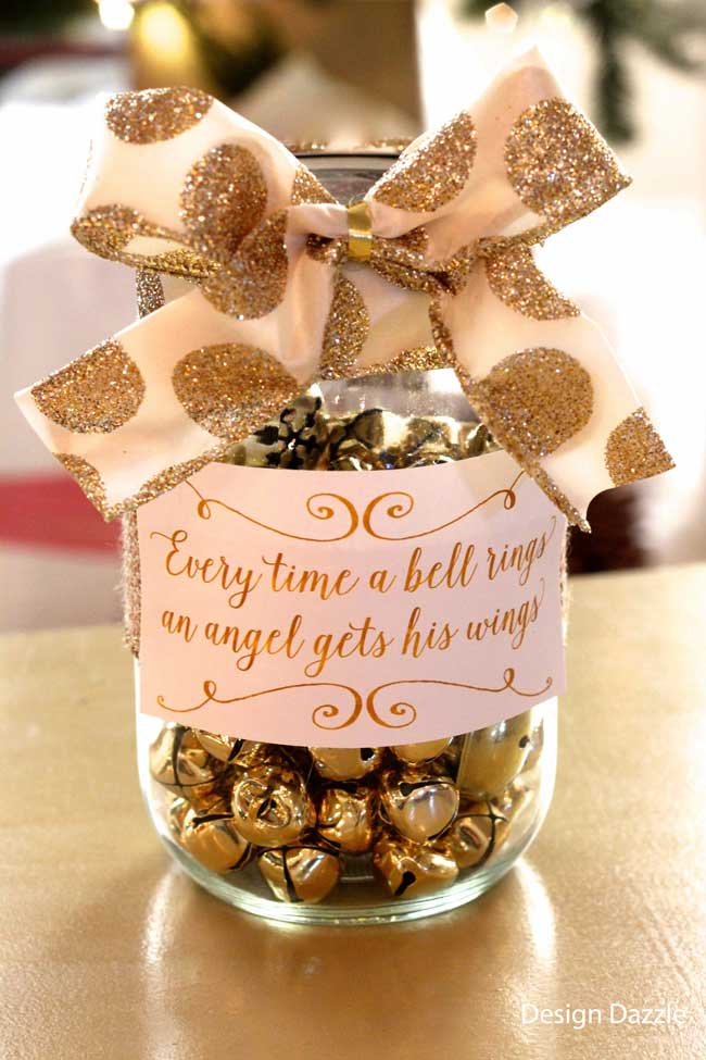 Family service jar every time a bell rings design dazzle