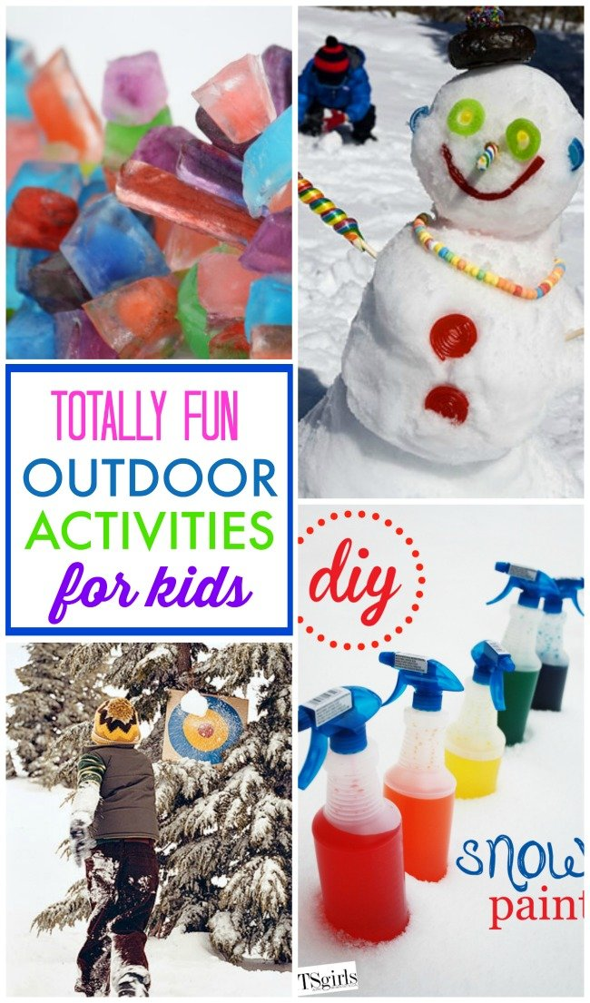 Over 10 totally fun outdoor activities for kids to have some fun outside in the winter